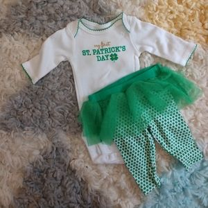 My First St Patrick's Day outfit